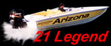 Superboat Offshore Powerboat 21 Legend